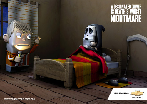 Chevrolet 35+ Creative advertising For Creative Peoples