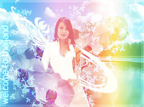 Design Thai Styled Angelic Artwork From Ordinary Photos 30<br /> Photoshop Photo Editing Tutorials