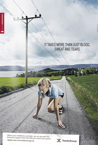 TE Runner 35+ Creative advertising For Creative Peoples