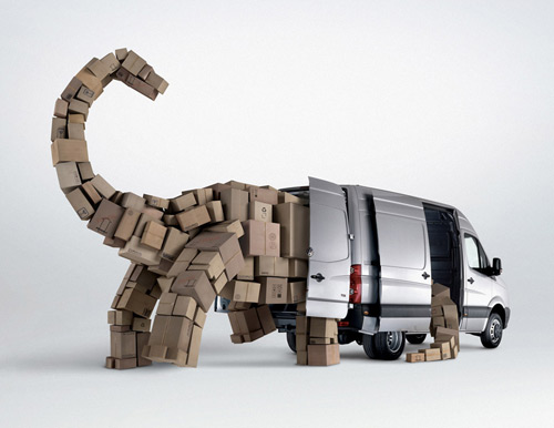 Volkswagen Crafter 35+ Creative advertising For Creative Peoples