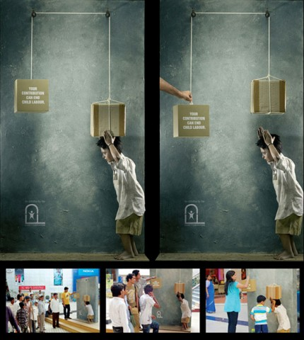 Your Contribution Can End Child Labour e1264849654984 35+ Creative  advertising For Creative Peoples