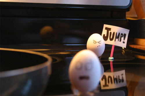 egg19 30 Funny and Clever Emotions Egg Photography by Artist