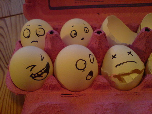 egg3 30 Funny and Clever Emotions Egg Photography by Artist