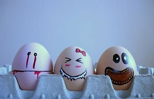 egg5 30 Funny and Clever Emotions Egg Photography by Artist