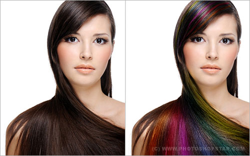 hair processing 14 30 Photoshop Photo Editing Tutorials