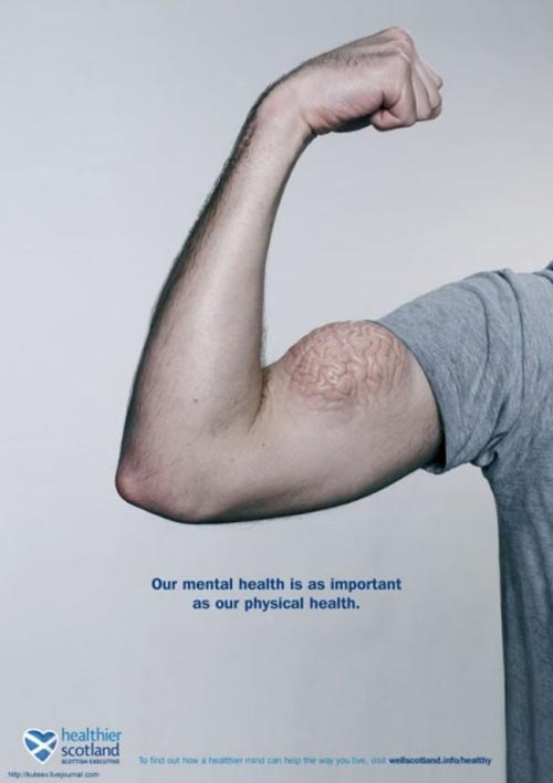 healthier scotland 35+ Creative advertising For Creative Peoples