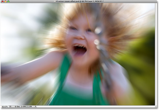 photoshop radial blur applied 30 Photoshop Photo Editing Tutorials