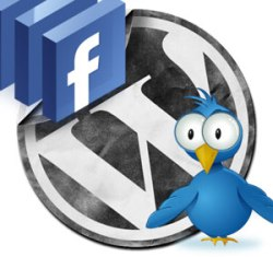 wordpress facebook twitter 15 Stunning Facebook WordPress Plugins For Bloggers