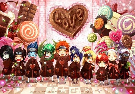 Akatsuki ConquerDaWorldWitLuv by LanWu 40 Absolutely Beautiful Valentine Day Wallpaper for Your Desktop
