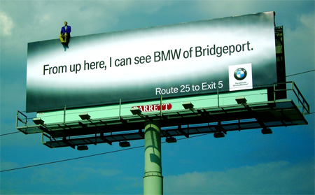 BMW Advertisement 25 Creative Advertising on Building