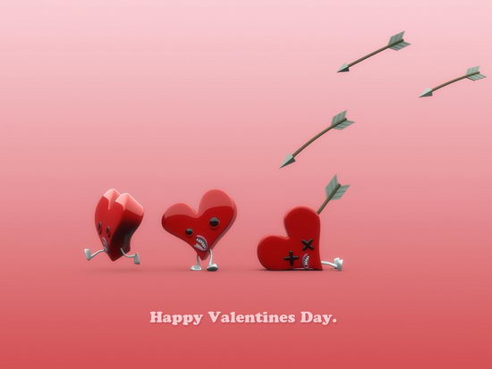 Happy Valentines Day by plusone 40 Absolutely Beautiful Valentine Day Wallpaper for Your Desktop