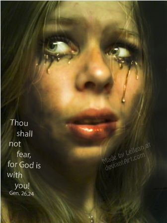 Thou shall not fear by Lellean 30 Unbelievable and Conceptual  Surreal Dark Artworks