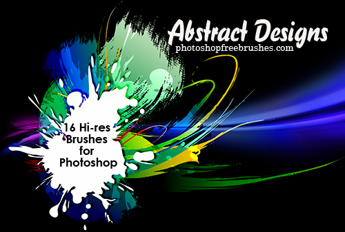 abstract designs 1 50+ Fresh Designs Photoshop Brushes released in January