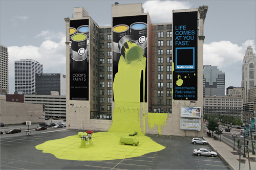 billboard1 35 Clever and Creative Billboard Advertising