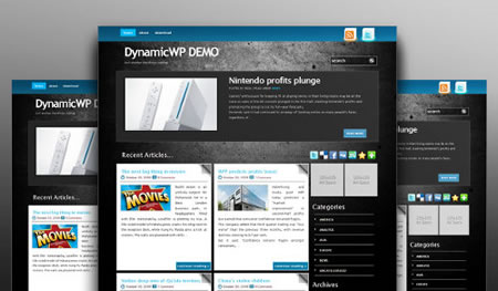 blackStone 20+ Free Premium WordPress Themes of January 2010