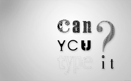 can you type it high res typography wallpaper 45 Free Inspiring  High Quality Typography Wallpapers