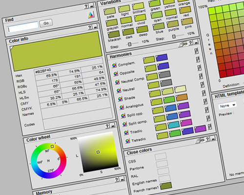 color selector tool 19 20 Best Color Tools For Web Designers