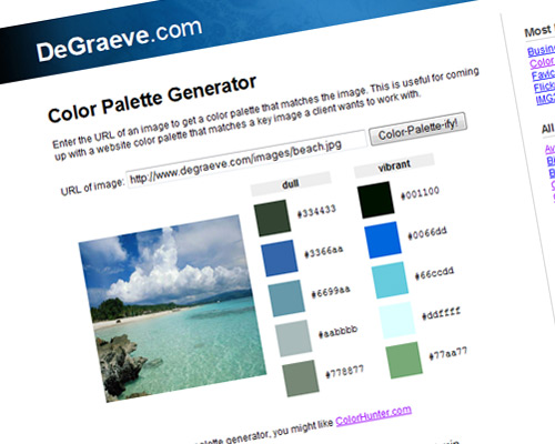 color selector tool 29 20 Best Color Tools For Web Designers