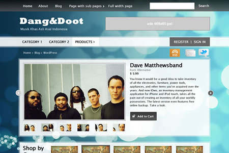 dangdoot 20+ Free Premium WordPress Themes of January 2010