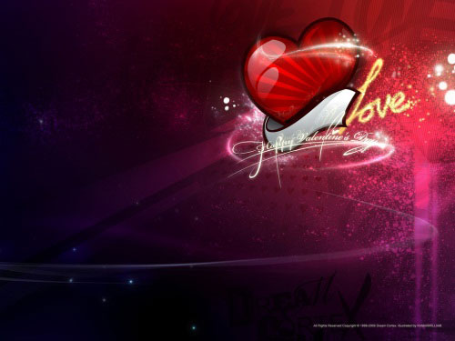 dream cortex valentine day 1 40 Absolutely Beautiful Valentine Day Wallpaper for Your Desktop