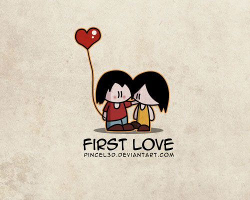 first love 40 Absolutely Beautiful Valentine Day Wallpaper for Your Desktop
