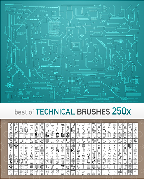 free photoshop brushes 4 50+ Fresh Designs Photoshop Brushes released in January