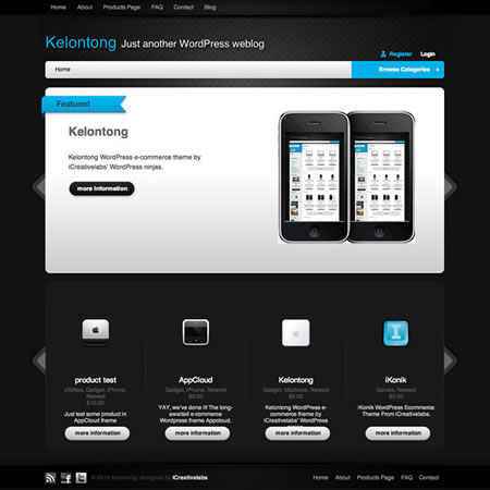 kelontong 20+ Free Premium WordPress Themes of January 2010