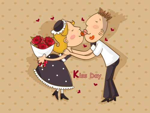 kiss day wallpapers 40 Absolutely Beautiful Valentine Day<br /><br /> Wallpaper for Your Desktop