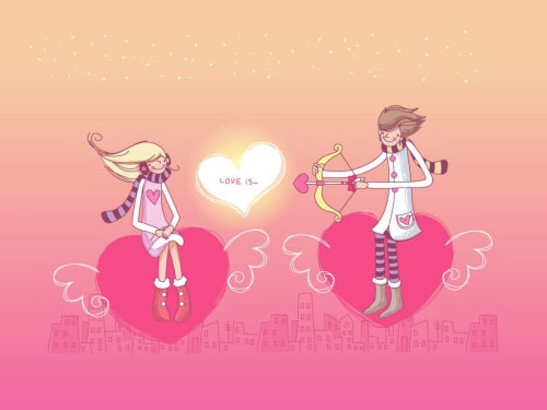 love shooter 40 Absolutely Beautiful Valentine Day Wallpaper for Your Desktop