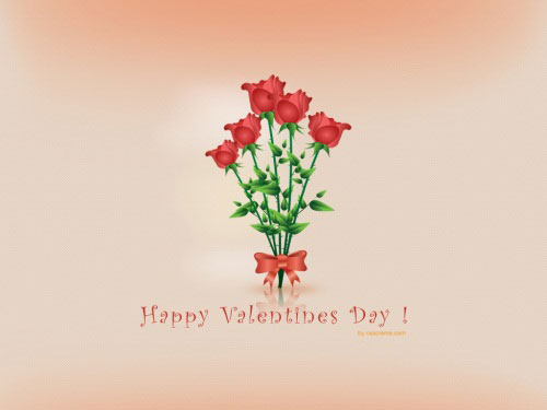 red roses love wallpaper 40 Absolutely Beautiful Valentine Day<br /><br /> Wallpaper for Your Desktop