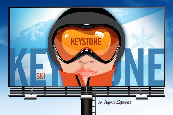 ski billboard 35 Clever and Creative Billboard Advertising