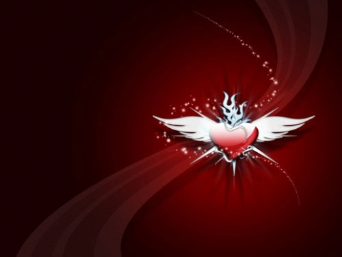 absolutely beautiful valentine day wallpaper for your desktop, Beautiful flower