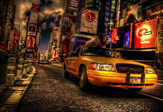 6 hdr taxi nyc 40+ Fantastic HDR Photographs of 2010