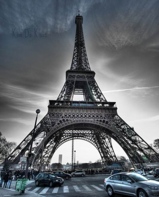 7 hdr eiffel tower 40+ Fantastic HDR Photographs of 2010