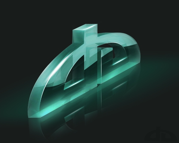 DeviantArt Logo 3D by Axertion 27 Creative 3D Concepts Logos From DeviantArt Gallery