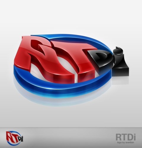 RTdi 3D Logo by Axertion 27 Creative 3D Concepts Logos From DeviantArt Gallery