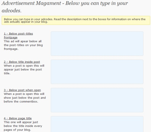 advertisement management 10 WordPress Plugins To Manage Your Ads<br /> Banners