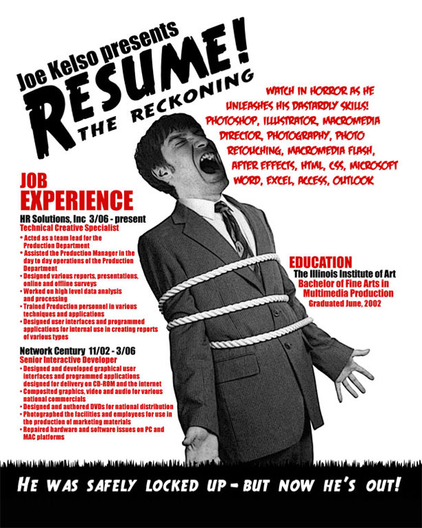 Creative Résumés 11 30+ Striking and Creative Resumes