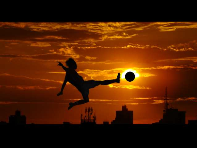 World  s Favorite Sport by vramak Truly Amazing Examples of Silhouette Photography
