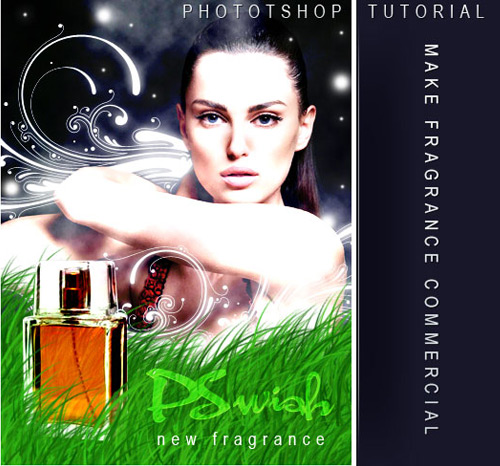 fragrance 20 Beautiful Photoshop Tutorials Part 1