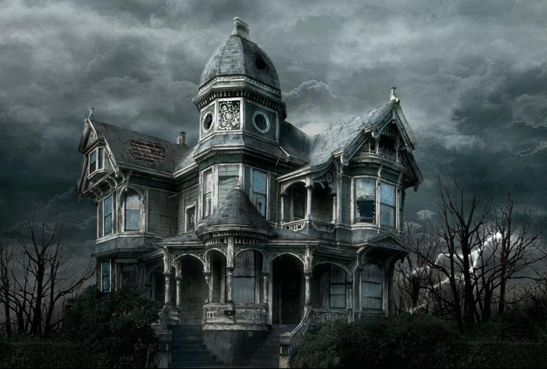 matte paint dark house 27 Matte Painting Tutorials for Adobe<br /> Photoshop