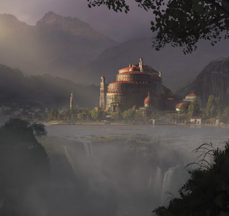 matte paint tehnicques 27 Matte Painting Tutorials for Adobe<br /> Photoshop