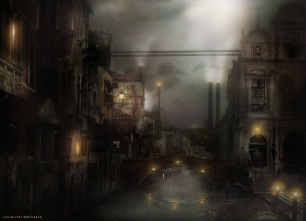 venice matte painting 1024x739 27 Matte Painting Tutorials for<br /> Adobe Photoshop