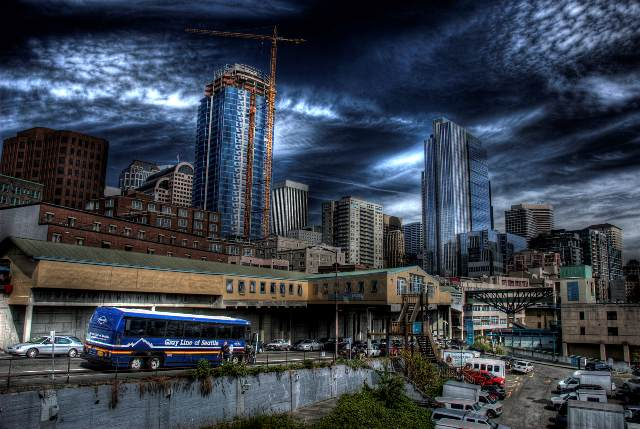 CityScape HDR by vazagothic 45 Fantastic HDR Pictures