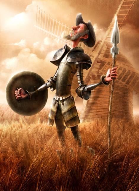 Don Quixote de la Mancha Fabricio Moraes 3D Amazing 3D CG Character Models