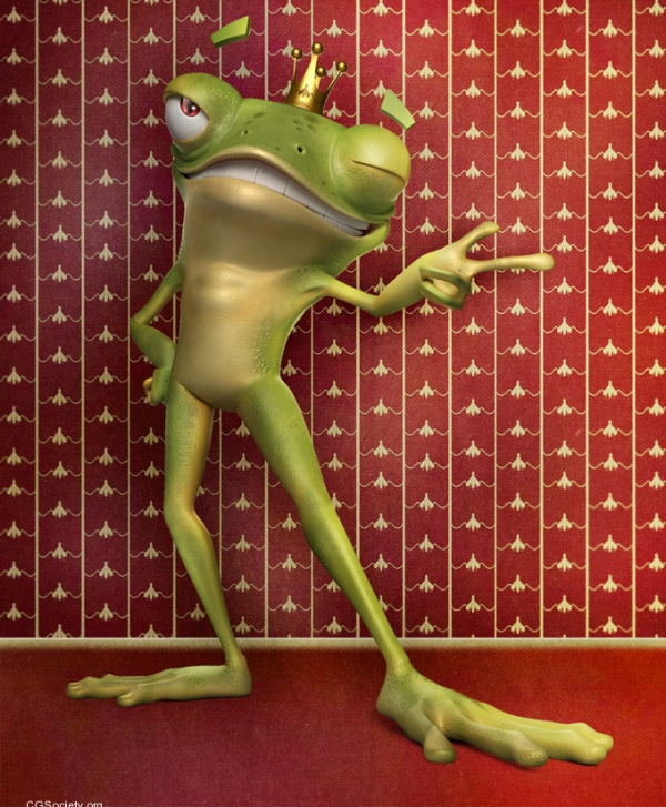 Frog by Marcos Nicacio Amazing 3D CG Character Models