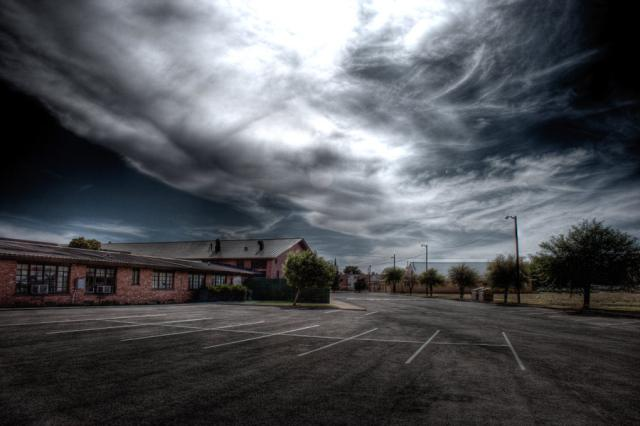 HDR Parking Lot by finchx6 45 Fantastic HDR Pictures
