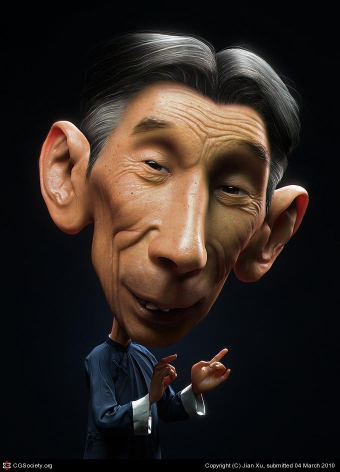 Ma San Li Jian Xu 3D Amazing 3D CG Character Models