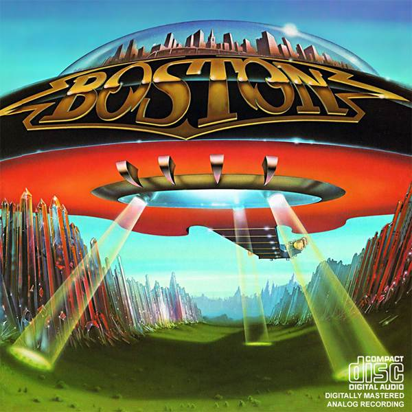 albumart boston 50 Amazing Album Cover Art