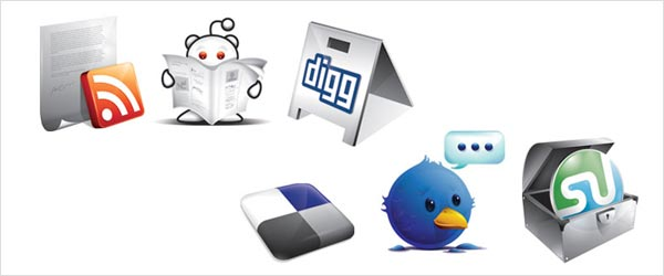 fsmis 02 30 Free Social Media Icon Sets For Bloggers